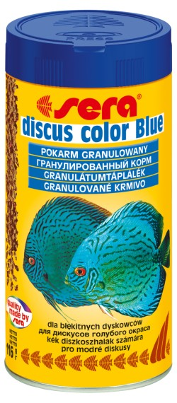 Sera discus color Blue 250ml