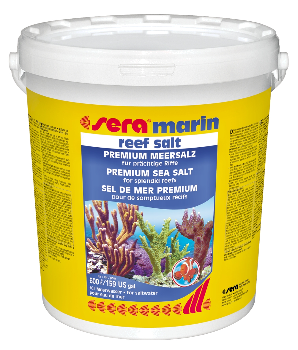 Sera marin reef salt for 600L  20kg